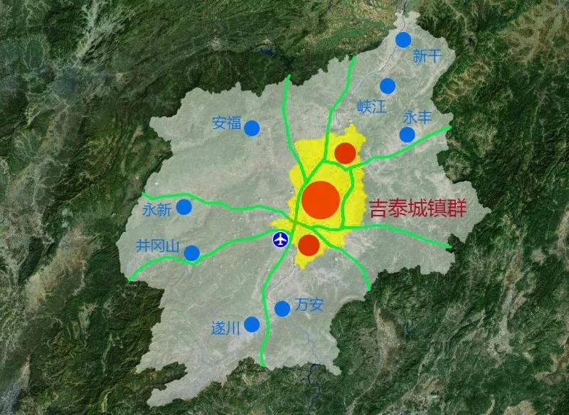 2017吉安市经济总量_吉安市地图