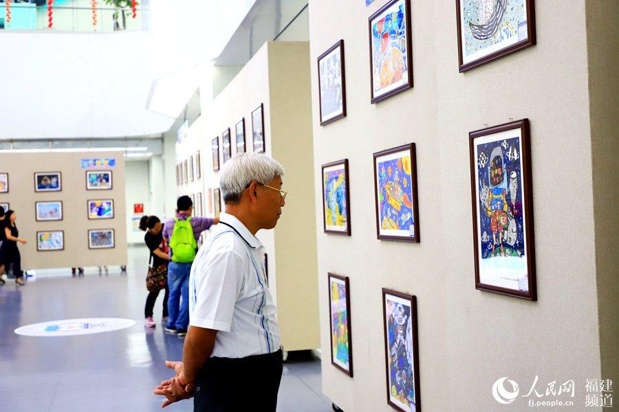 海峡两岸青少年航天梦创意绘画大赛落幕 获奖作品在厦门集美展出|厦门户口办理-厦门户