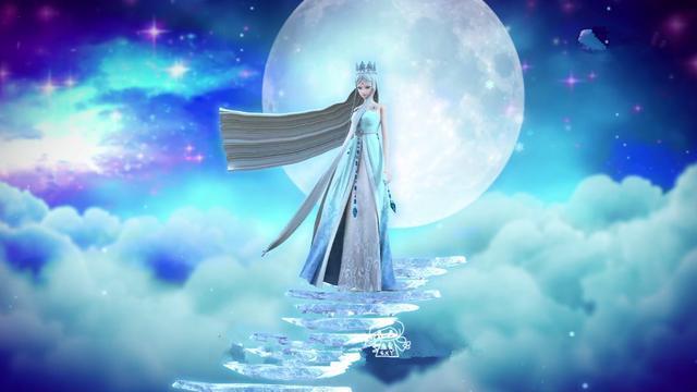 来自叶罗丽仙境冰晶川的冰公主拥有冰雪系列的叶罗丽魔法,自然每一种图片
