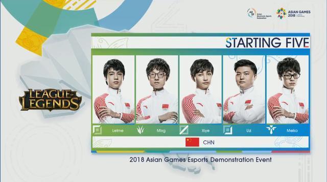 亚运会英雄联盟,中国队17分钟速胜哈萨克斯坦,对手游戏体验极差