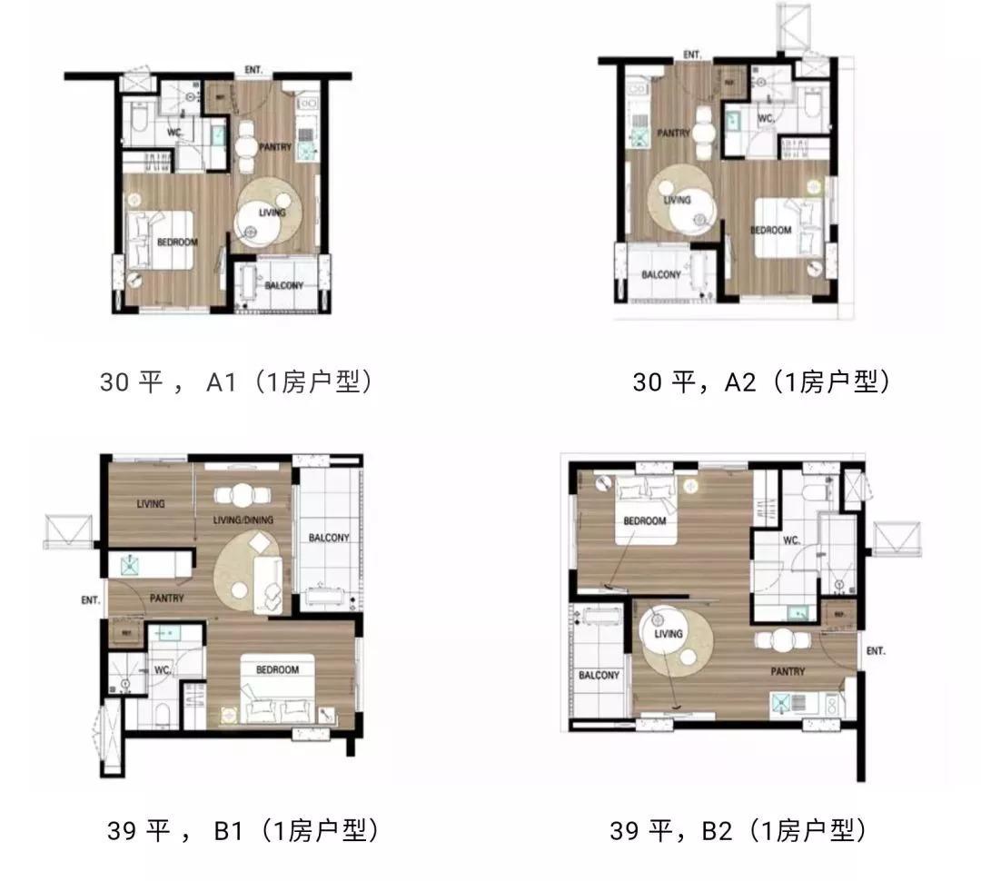 40平方公寓设计平面图