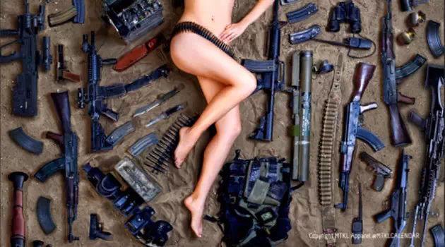 如果以色列女兵都这样,这仗咋打?![39P]