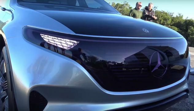 梅赛德斯-奔驰新款纯电动EQC车型简介 该款SUV将于9月4日上市