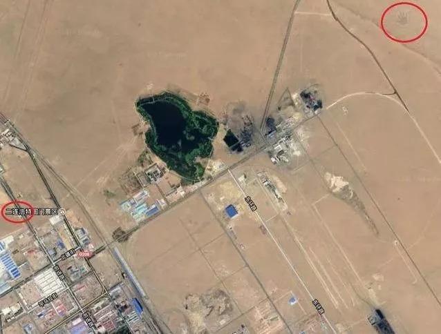 内蒙古草原惊现巨大手印,是天外来客还是恶作剧?
