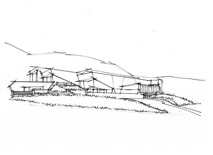 犹他州国家历史博物馆建筑手绘可临摹青岛手绘培训一行中心
