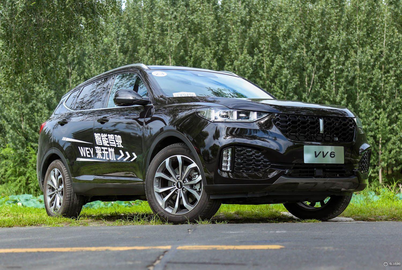 VV6将于今日晚正式上市,WEY品牌三兄弟齐征战20万以下SUV市场