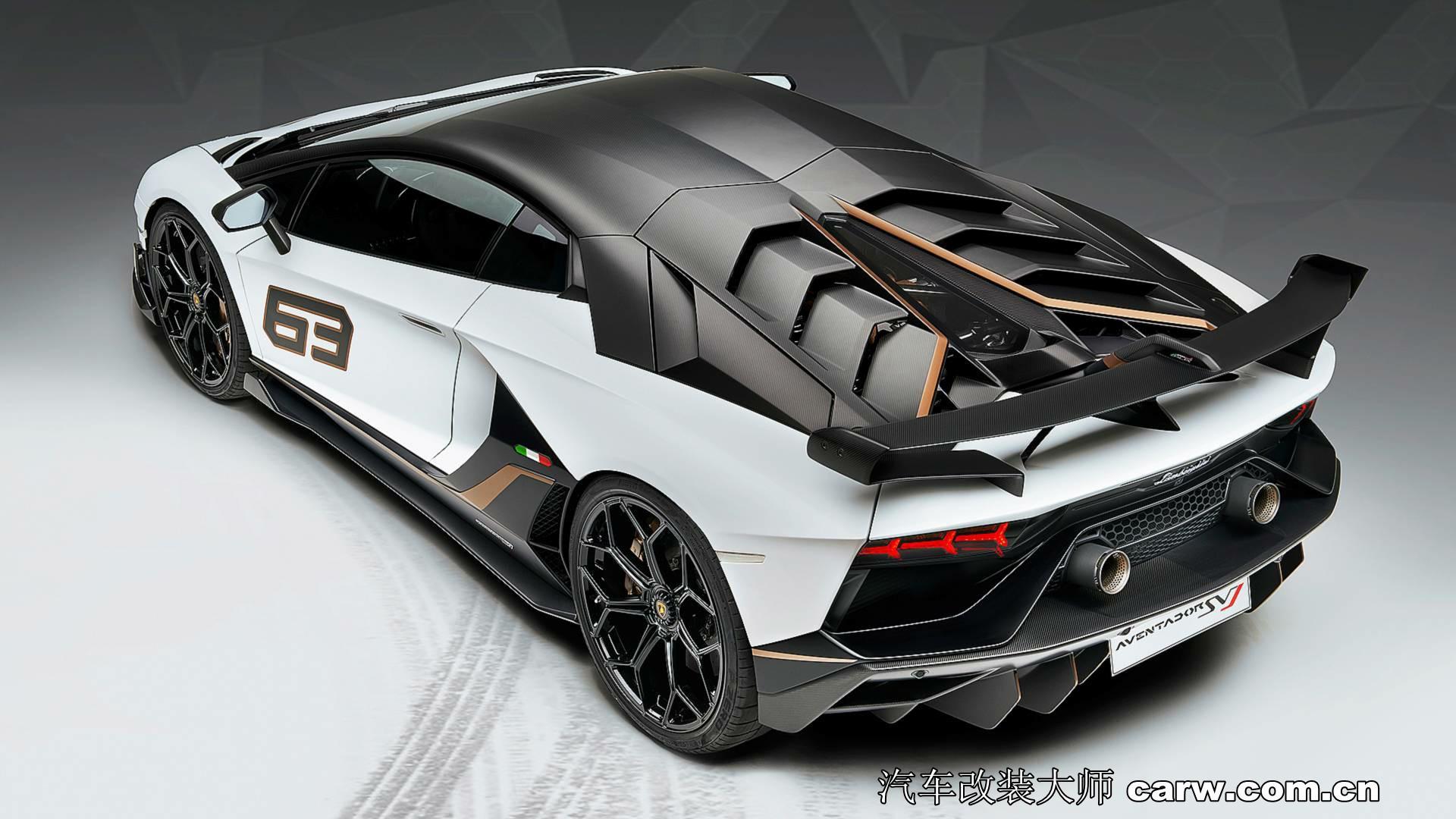 兰博基尼Aventador SVJ地狱魔头|汽车改装大师