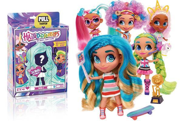 惊喜美发娃娃 hairdorables collectible surprise dolls图片