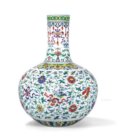 大清乾隆瓷器为什么受收藏界欢迎