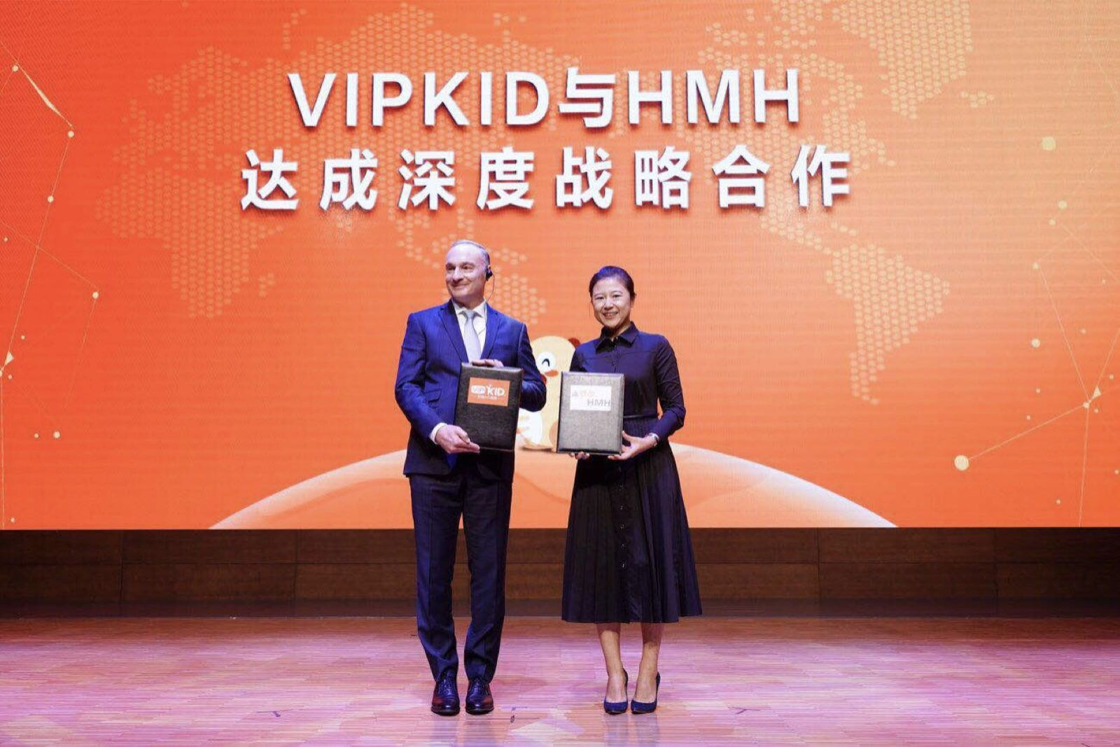 "VIPKID与全球K12出版集团HMH合作 ,推出""超能""线上课程"