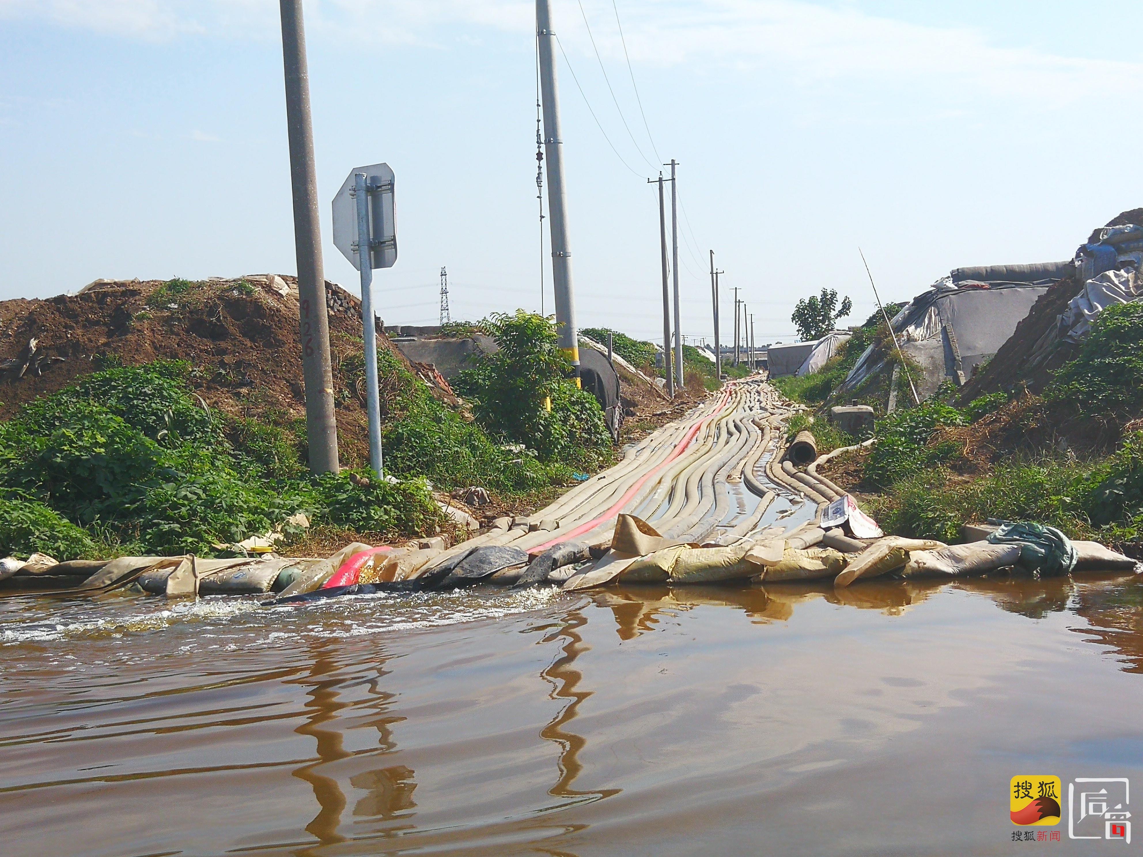 寿光雨夜里的一个村庄 | 接到疏散通知时已溃堤 村民对泄洪多不知情