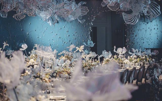 张馨予婚礼现场布置细节曝光,唯美浪漫,有如童话世界!