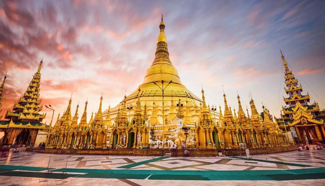 缅甸绝美风光,纯净人文拍不停,浮屠中逐光掠影