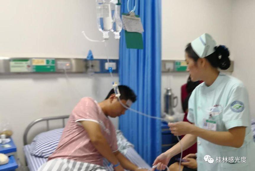 100多老师学生和专家学者被紧急送医,桂林这家大酒店摊上大事了!