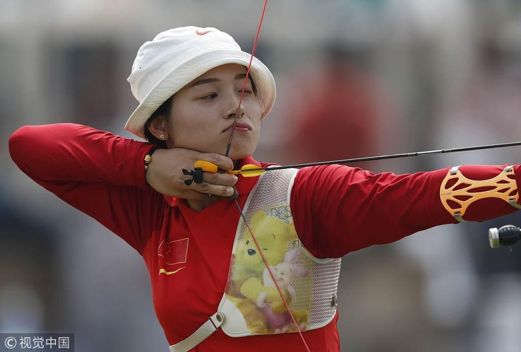 破韩国40年垄断 张心妍拿下亚运会射箭女子首金
