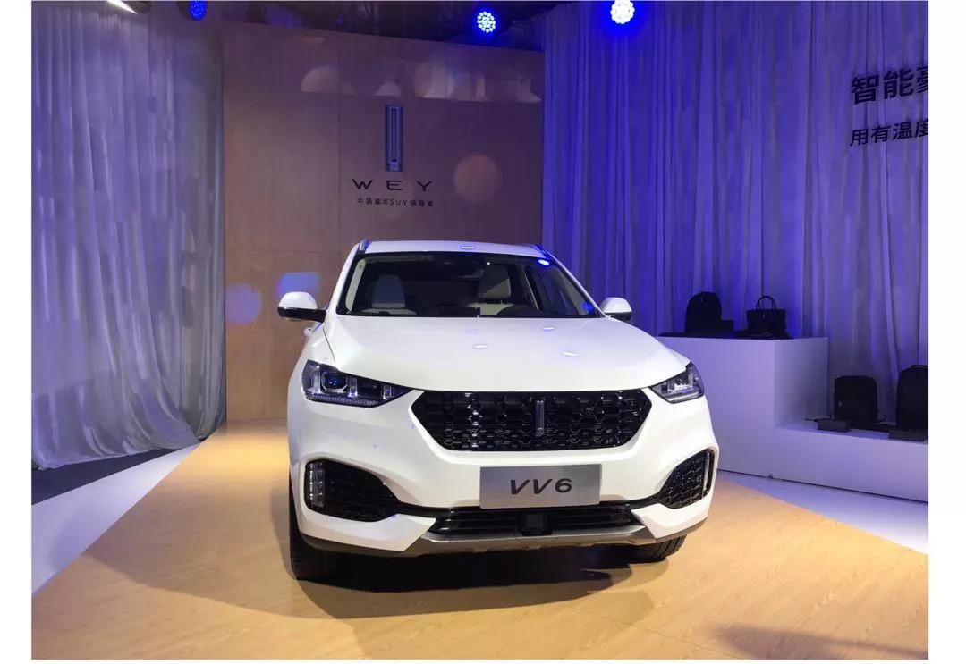 新车丨VV6 14.8万元入市,WEY品牌最聪明的SUV来了