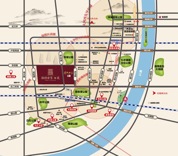 湘潭轨道交通规划图