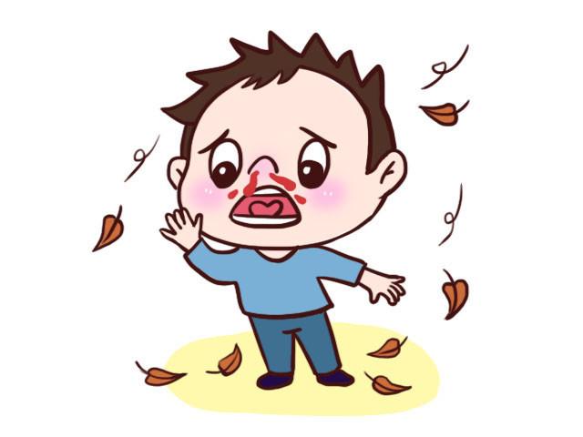 秋季孩子容易流鼻血,預防治療用這三招,寶媽早知道,孩子更健康