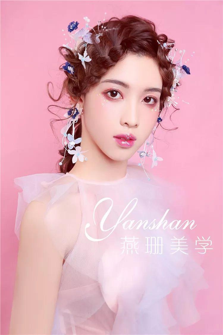 时尚 正文  仙气迷人的森系新娘 唯美清新的鲜花新娘 版权归原作者图片
