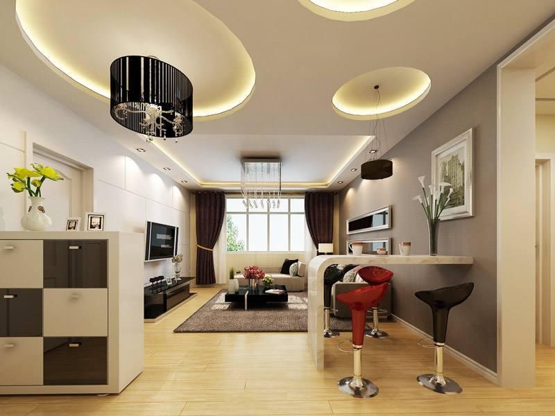 客厅挑高户型设计图
