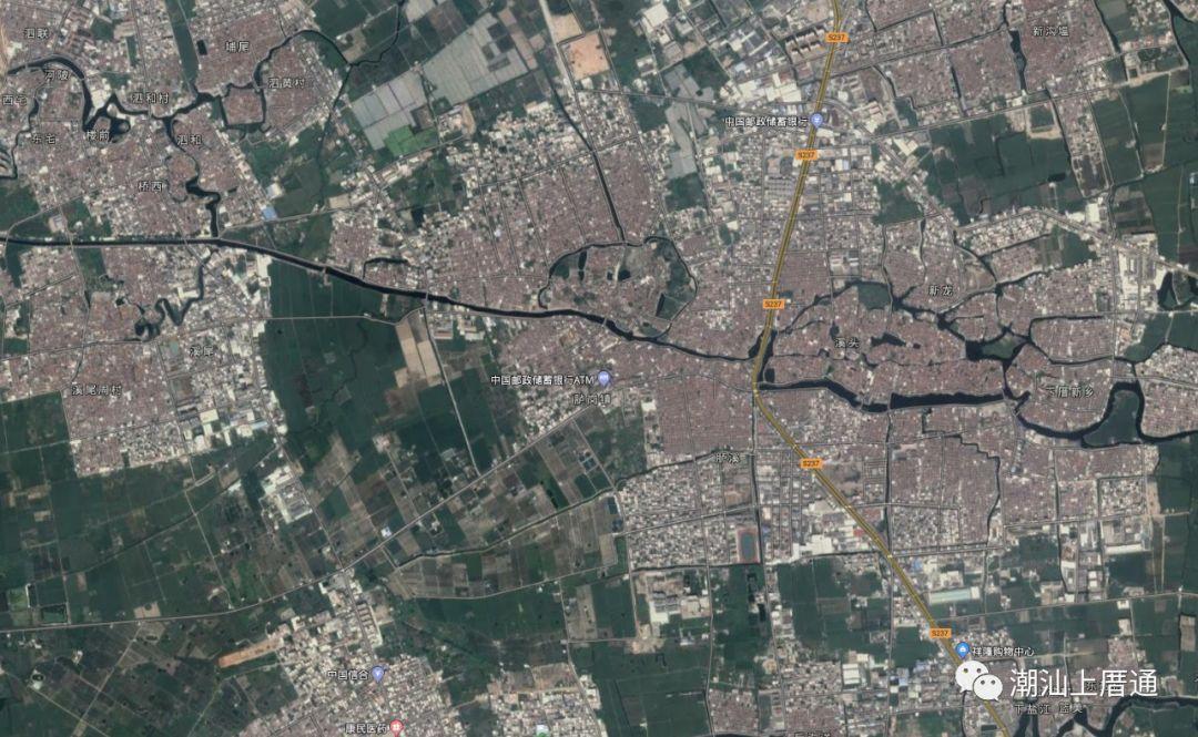 先来看看上厝乡全景和农田全景卫星地图 (点击看大图) 下图是上厝图片