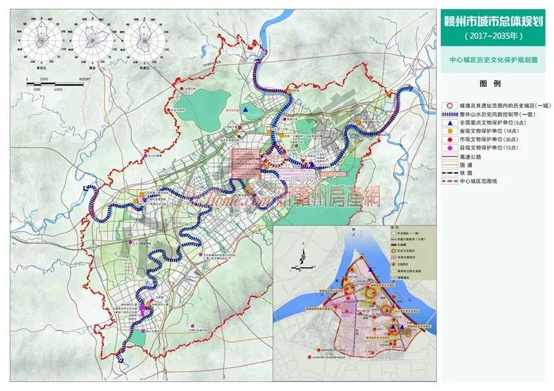 赣州城市总体规划出炉 2017 2035 ,关系到970万赣州人,快看你家规划成怎样
