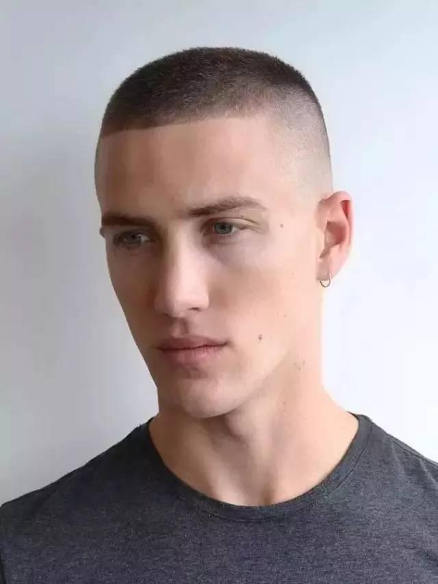 男生发型设计与脸型搭配,能驾驭平头才是真帅!