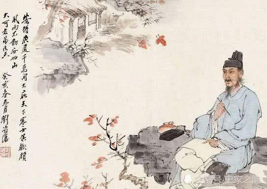 杜甫有一首七古,格调之苍凉哀伤,与李清照的《声声慢》相似相仿