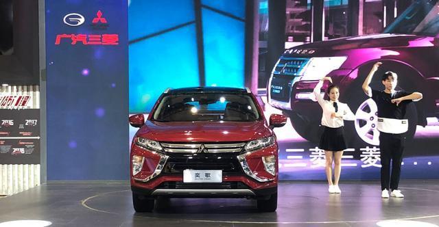 2018成都车展探馆 |广汽三菱全新紧凑型SUV奕歌曝光