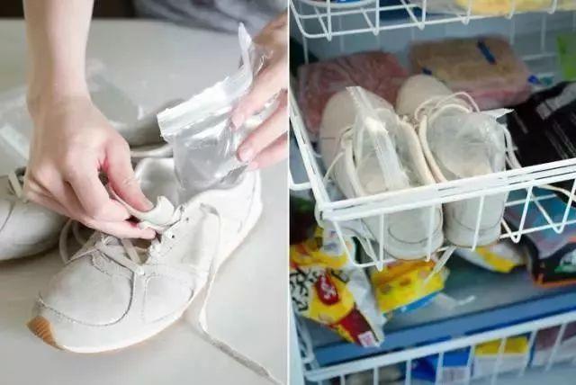 或者穿上厚棉袜,再穿上新鞋,用吹风机调热风朝鞋面吹,这样也能软化