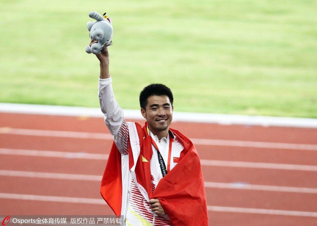 亚洲跨栏王谢文骏:因为仍怀有期待 所以会继续
