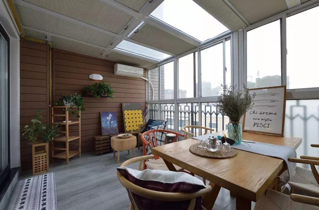 复式顶楼或者阳光房,露台试着这样装,把活力锁进屋里!
