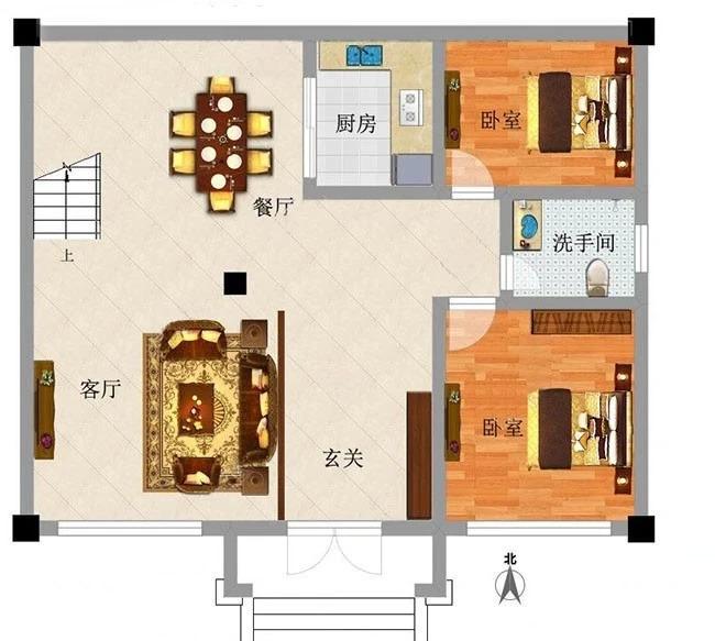 6×13房屋平面设计图