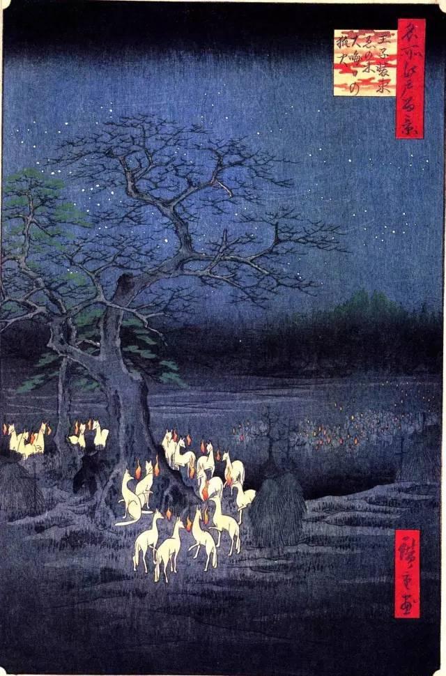 通览歌川的风景画可见, 虽有西方绘画的影响, 但总体展示了日本人
