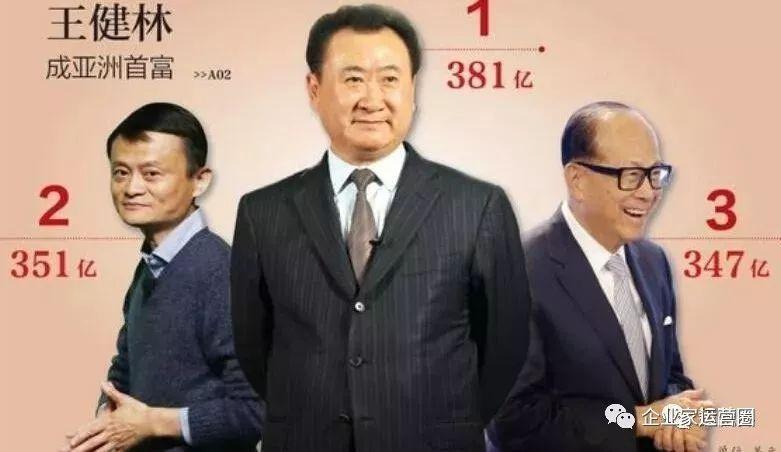 王健林财富缩水682亿