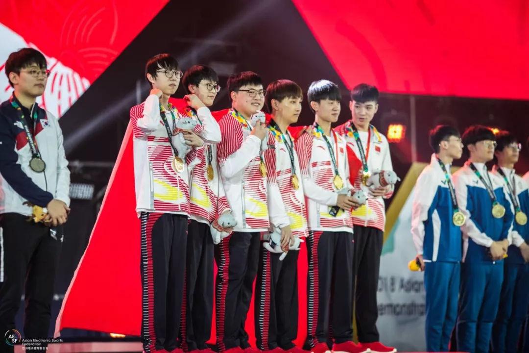亚运会lol项目国家队夺冠!篮球场之外中国队也能干翻韩国