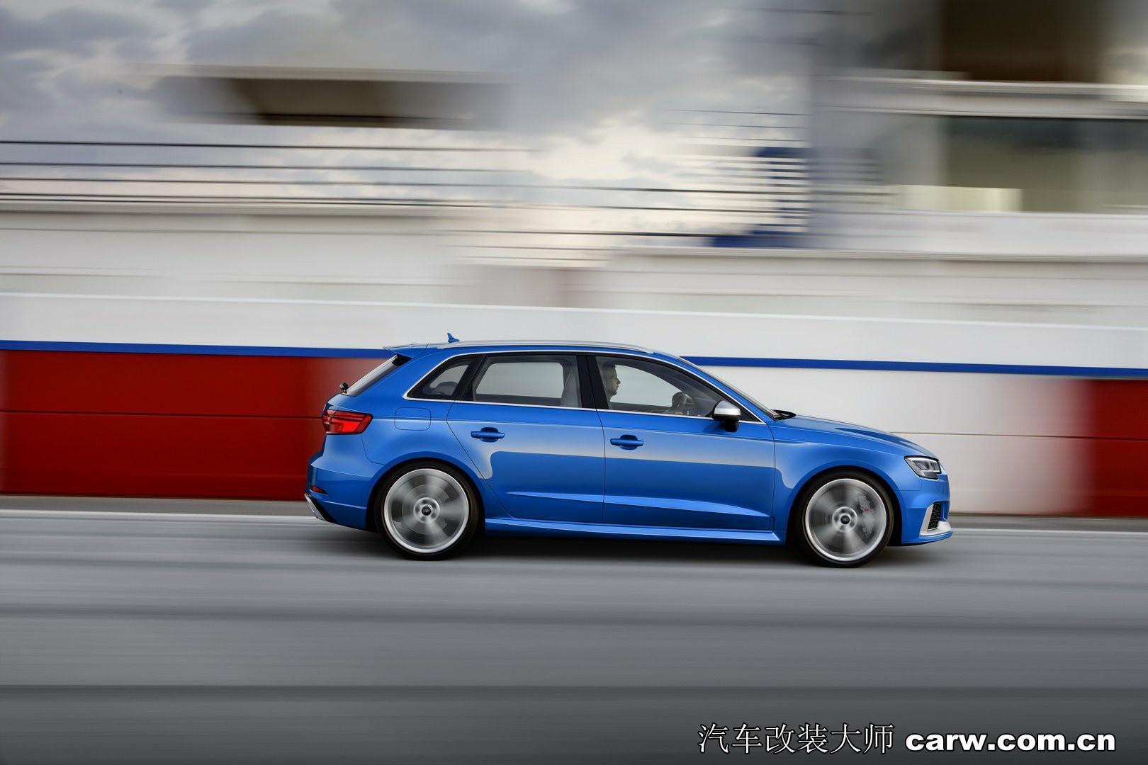 奥迪RS3 Sportback和Sedan高清图欣赏