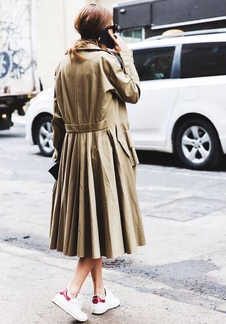 风衣搭长裙_牛仔半身长裙搭风衣