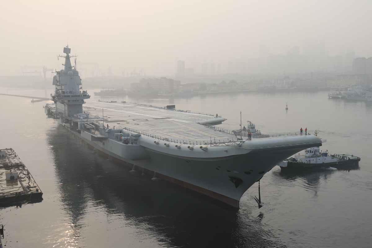 国产航母近日海试 内容主要是什么?