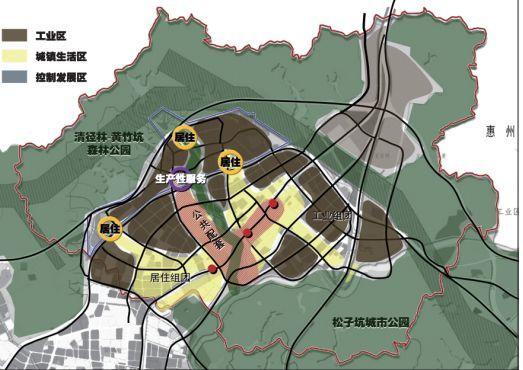 深圳市龙岗区高桥工业区发展策略与详细规划研究