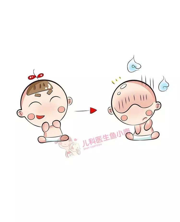 夏天給寶寶剃光頭,寶寶更熱!
