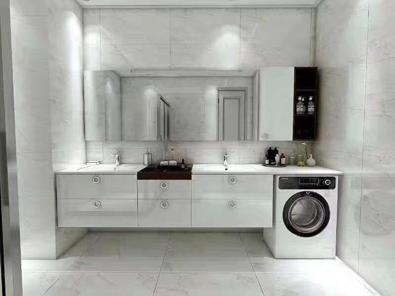 双台盆设计,让浴室争吵少一点!
