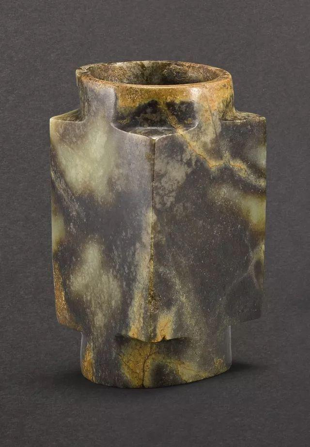 新石器时代或齐家文化 玉琮