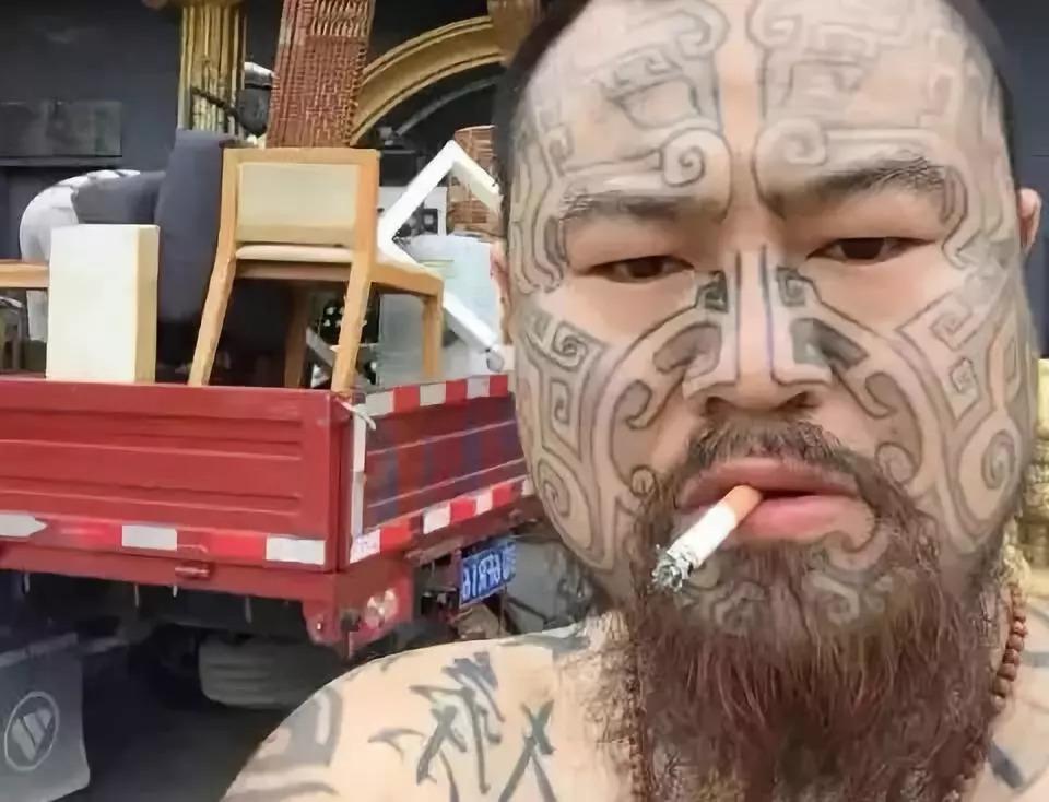 抽象社会纹身