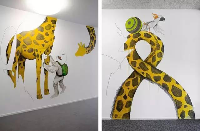 政务 正文  手绘画主题 用手绘墙面装点幼儿园 ~~ 哎哟,不错哦!