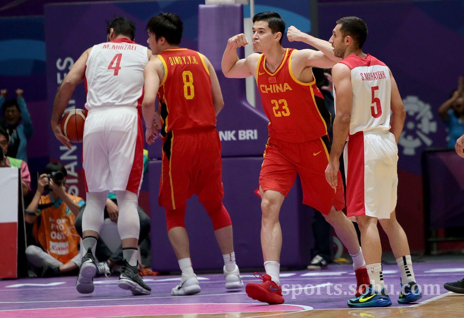 中国男篮vs伊朗队录像