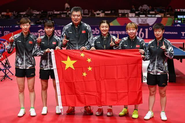 国乒又把亚运会变成全运会,雪藏四大主力仍打服全亚洲 百度热搜 图2