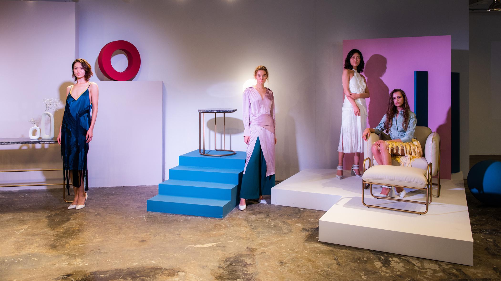 "KINGSWERE跨界时尚,与新锐设计师陈序之演绎""居家一隅"""