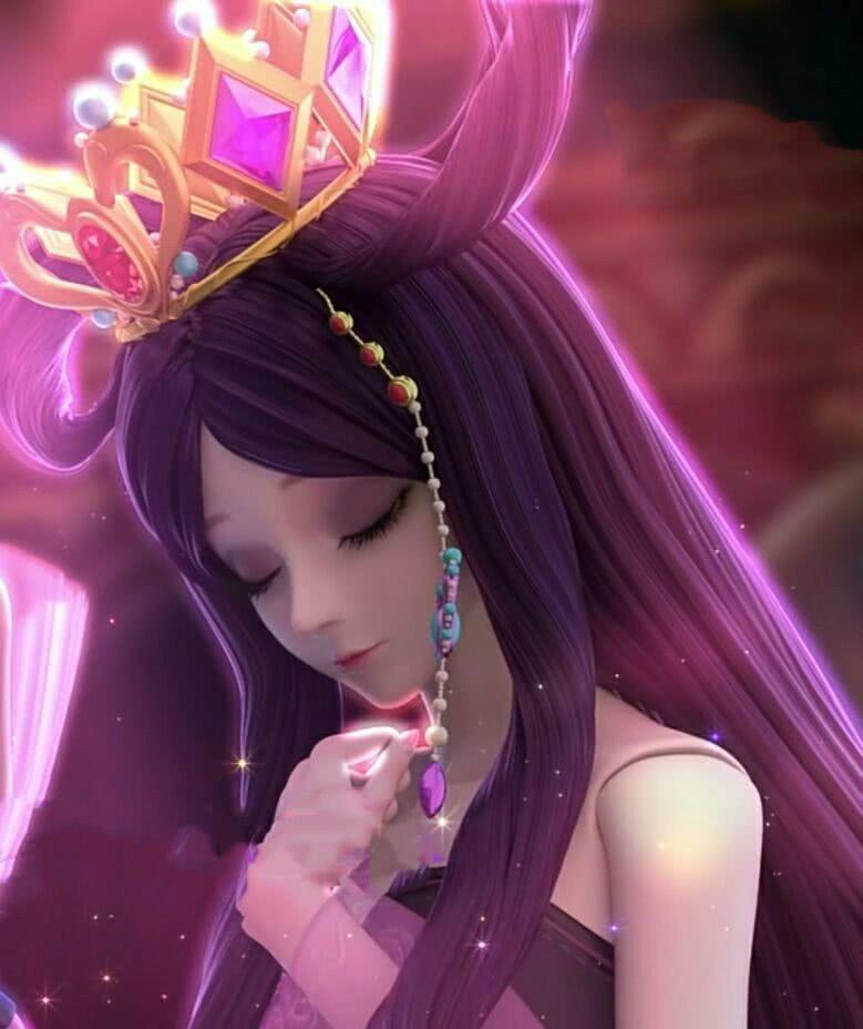 叶罗丽 闭眼卖萌的五个瞬间,罗丽公主很甜美,陈思思很性感