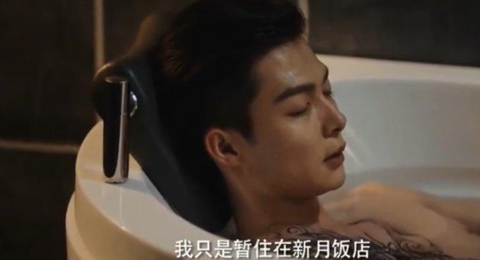 张启山(陈伟霆饰演,麒麟血不完整,穷奇纹身) 张日山(张铭恩饰演,麒麟